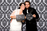 Jen and Brad photo booth 9-29-12
